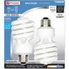 Utilitech 2-Pack 23-Watt (100W) Spiral Medium Base Daylight (5000K) CFL Bulbs ENERGY STAR