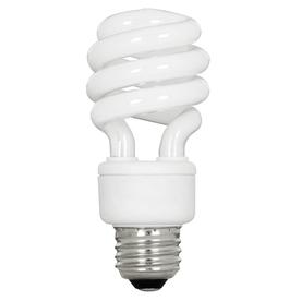 Utilitech 4-Pack 13-Watt (60W Equivalent) 5,000K T3 Medium Base (E-26) Natural Daylight CFL Bulb ENERGY STAR