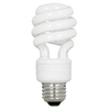 Utilitech 4-Pack 13-Watt (60W) Spiral Medium Base Daylight (5000K) CFL Bulbs ENERGY STAR