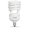Utilitech 4-Pack 13-Watt (60W) Spiral Candelabra Base Daylight (5000K) CFL Bulbs