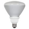 Utilitech 18-Watt (75W Equivalent) 5,000K BR40 Medium Base (E-26) Daylight Flood Light CFL Bulb