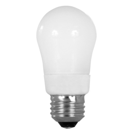 Utilitech 2-Pack 7-Watt (40W Equivalent) 2,700K Medium (E-26) Base Soft White Decorative CFL Bulbs