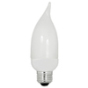 Utilitech 2-Pack 7-Watt (40W) Medium Base Soft White (2700K) Decorative CFL Bulbs ENERGY STAR