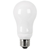 Utilitech 2-Pack 15-Watt (60W Equivalent) 2,700K A19 Medium Base (E-26) Soft White CFL Bulb ENERGY STAR