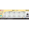 Utilitech 6-Pack 18-Watt (75W) Spiral Medium Base Soft White (2700K) CFL Bulbs ENERGY STAR