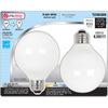 Utilitech 2-Pack 12-Watt (60W Equivalent) 3,500K Medium (E-26) Base Warm White Decorative CFL Bulbs