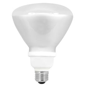 Utilitech 18-Watt (75W) BR40 Medium Base Bright White (3500K) CFL Bulb ENERGY STAR