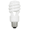 Utilitech 2-Pack 9-Watt (40W Equivalent) 2,700K Spiral Medium Base (E-26) Soft White CFL Bulb ENERGY STAR