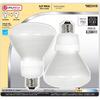 Utilitech 2-Pack 15-Watt (65W) BR30 Medium Base Soft White (2700K) CFL Bulbs ENERGY STAR