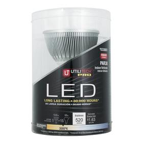 Utilitech 13.5-Watt (65W Equivalent) PAR30 Longneck Warm White Dimmable Outdoor LED Flood Light Bulb