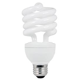 Utilitech 23-Watt (100W Equivalent) 2,700K T3 Medium Base (E-26) Soft White Dimmable CFL Bulb ENERGY STAR