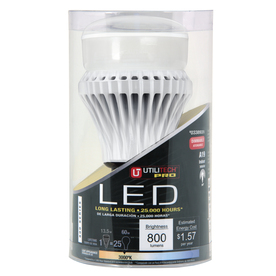 Utilitech 13.5-Watt (60 W Equivalent) Warm White (3000 K) Decorative LED Bulb ENERGY STAR