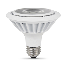 Utilitech 15-Watt PAR 30 Shortneck Medium Base Warm White Indoor LED Flood Light Bulb