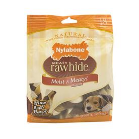 Nylabone 8.2-oz Beef-Flavor Rawhide Braids