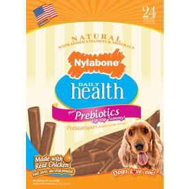 Nylabone 19.2-oz All-Natural Chicken-Flavor Snacks