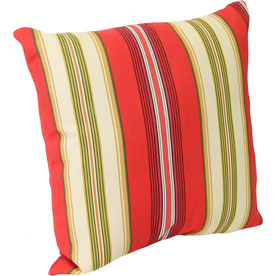 Shop Lipstick UV-Protected Square Outdoor Decorative Pillow at Lowes