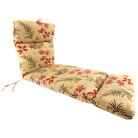 Shop jordan manufacturing 72 in l x 22 in w st lucia for 23 w outdoor cushion for chaise