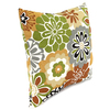 Jordan Manufacturing 16-in W x 16-in L Camila Maple Square Indoor Decorative Complete Pillow