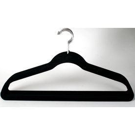 Style Selections 10-Pack Flocked Hangers