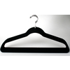 Style Selections 10-Pack Flocked Clothes Hangers