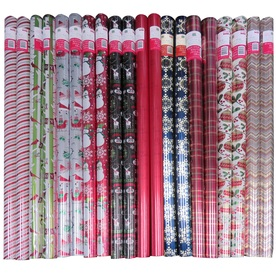Creative Presence Assorted 3.33-ft x 12-ft Christmas Wrapping Paper IG76265