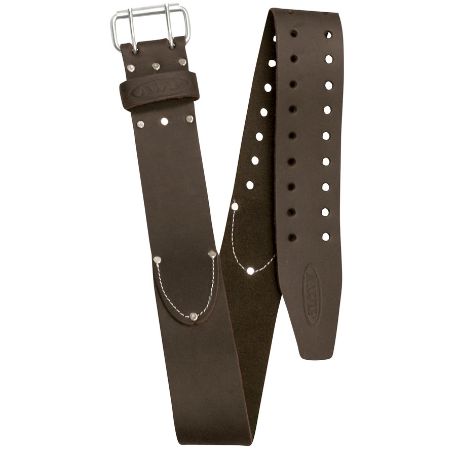 shop awp 52 quot leather tool belt at lowes