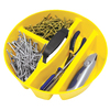 AWP Plastic Interior Stacking Bucket Tool Organizer