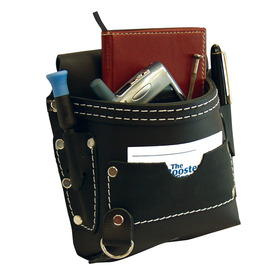 Texas Hold-Ums Black Oil Tan Belt Organizer