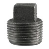 LDR 1/2-in Dia Black Iron Plug Fitting