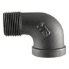 LDR 1-in Dia 90-Degree Black Iron Street Elbow Fitting