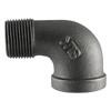 LDR 19/50-in Dia 90-Degree Black Iron Street Elbow Fitting