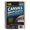ProLine 8-oz Canvas Drop Cloth (Common: 6-ft x 9-ft; Actual: 6-ft x 9-ft)