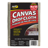 ProLine 10-oz Canvas Drop Cloth (Common: 4-ft x 15-ft; Actual: 4-ft x 15-ft)