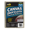 ProLine 8-oz Canvas Drop Cloth (Common: 4-ft x 5-ft; Actual: 4-ft x 5-ft)