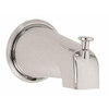 Danze 5-1/2-in Nickel Tub Spout with Diverter