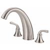 Danze Bannockburn 2-Handle Adjustable Deck Mount Tub Faucet