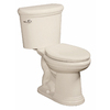 Danze Orrington Chair Height Biscuit 12-in Rough-In Elongated Toilet Bowl