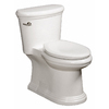 Danze Orrington White 1.28 Gpf (4.85 Lpf) 12-in Rough-in WaterSense Elongated Chair Height Floor Mount/Floor Outlet Toilet