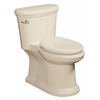 Danze Orrington Biscuit 1.28 GPF High Efficiency WaterSense Elongated 1-Piece Toilet