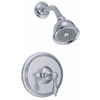 Danze Fairmont Chrome 1-Handle Shower Faucet Trim Kit with Single-Function Showerhead