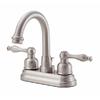 Danze Sheridan Brushed Nickel 2-Handle 4-in Centerset WaterSense Bathroom Faucet (Drain Included)