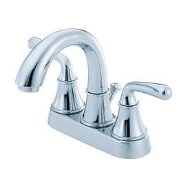 Danze Bannockburn Chrome 2-Handle 4-in Centerset WaterSense Bathroom Faucet (Drain Included)