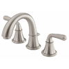 Danze Bannockburn Brushed Nickel 2-Handle 4-in Mini Widespread WaterSense Bathroom Sink Faucet (Drain Included)