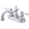 Danze Opulence Chrome 2-Handle 4-in Centerset WaterSense Bathroom Sink Faucet (Drain Included)