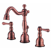 Danze Opulence Antique Copper 2-Handle 4-in Mini Widespread WaterSense Bathroom Sink Faucet (Drain Included)