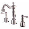 Danze Opulence Brushed Nickel 2-Handle 4-in Mini Widespread WaterSense Bathroom Faucet (Drain Included)