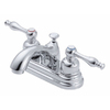 Danze Sheridan Chrome 2-Handle 4-in Centerset WaterSense Bathroom Sink Faucet (Drain Included)