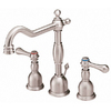 Danze Opulence Brushed Nickel 2-Handle Widespread WaterSense Bathroom Faucet (Drain Included)