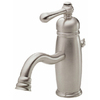 Danze Opulence Brushed Nickel 1-Handle Single Hole WaterSense Bathroom Faucet (Drain Included)