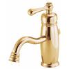 Danze Opulence Polished Brass 1-Handle Single Hole WaterSense Bathroom Faucet (Drain Included)